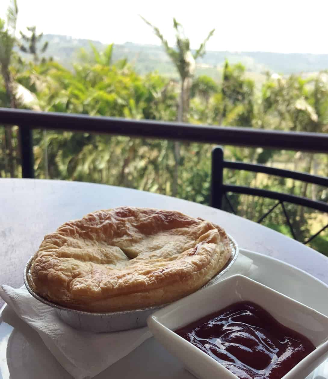 Gourmet pies are a specialty at Tommy Smith Cafe